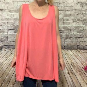 ‼️4X LANE BRYANT Pink Soft Tank Top Size 26/28‼️